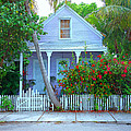 Colorful Key West Cottage by Rebecca Korpita