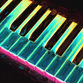 Colorful Keys by Bob Orsillo