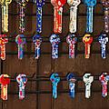 Colorful Keys by John Shaw
