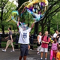 Colorful Large Bubbles by Christy Gendalia