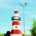 Colorful Lighthouse 2 by Jeelan Clark