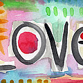 Colorful Love- Painting by Linda Woods