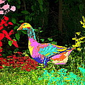 Colorful Lucy Goosey by Joyce Dickens