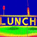 Colorful Lunch by Ed Weidman