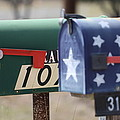 Colorful Mailboxes by Terry Fleckney