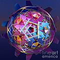Colorful Metallic Orb by Gaspar Avila