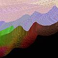 Colorful Mountain Range by Nereida Slesarchik Cedeno Wilcoxon
