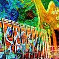 Colorful Music Digital Guitar Art By Steven Langston by Steven Lebron Langston