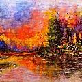 Colorful Night.. by Cristina Mihailescu