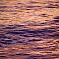 Colorful Ocean Water At Sunset by Jonathan Kingston