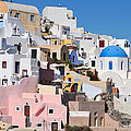 Colorful  Oia by George Atsametakis
