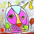 colorful Owl by Greg Moores