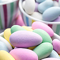 Colorful Pastel Jordan Almond Candy by Edward Fielding