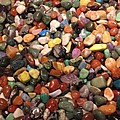Colorful Polished Stones by Barbara McDevitt