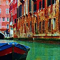Colorful Relics Of Venice by Jan Moore