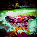 Colorful River by John Kreiter