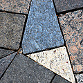 Colorful Rock Pavers by Nancy Mueller