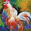 Colorful Rooster by Melinda Etzold
