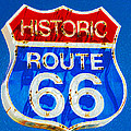 Colorful Route 66 by David Lee Thompson