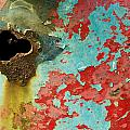 Colorful Rusty Door by Cindy Archbell
