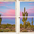 Colorful Southwest Desert Window Art View by James BO  Insogna