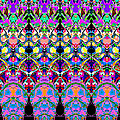 Colorful Symmetrical Abstract by Phil Perkins
