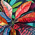 Colorful Tropical Leaves 2 by Marionette Taboniar