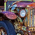 Colorful Vintage Car by Phyllis Denton
