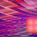 Colorful Waves Abstract Fractal Art by Keith Webber Jr
