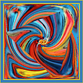 Colorful Waves by Ben and Raisa Gertsberg