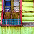 Colorful Window by Jess Kraft