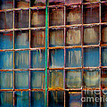 Colorful Windows  by Karen Adams