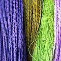 Colorful Yarn -  Photography by Ann Powell