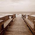 Colorless Seascape by Laurie Perry