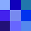 Colors Of Blue by Karon Melillo DeVega