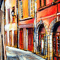 Colors Of Lyon 3 by Mona Edulesco