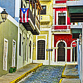 Colors Of Old San Juan Puerto Rico by Carter Jones