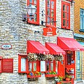 Colors Of Quebec 16 by Mel Steinhauer