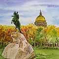 Colors Of Russia Monuments Of Saint Petersburg by Irina Sztukowski