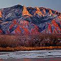 214501-colors Of Sandia Crest  by Ed  Cooper Photography