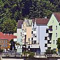 Colorul Houses In Germany by Howard Stapleton