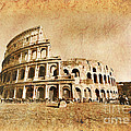 Colosseum Grunge by Stefano Senise