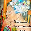 Colossians 3 2 Spanish by Michelle Greene Wheeler