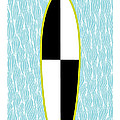 Colour Block Surfboard by MGL Meiklejohn Graphics Licensing
