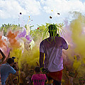 Colour Bombing  by Debbie Cundy