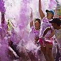 Colour Purple  by Debbie Cundy