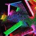 Coloured Chalks  by Mauro Celotti