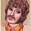 Coloured Pencil Portrait by Joan-Violet Stretch