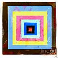 Coloured Squares Number 1 by George Sneyd