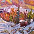 Coloured Winter by Elena Sokolova